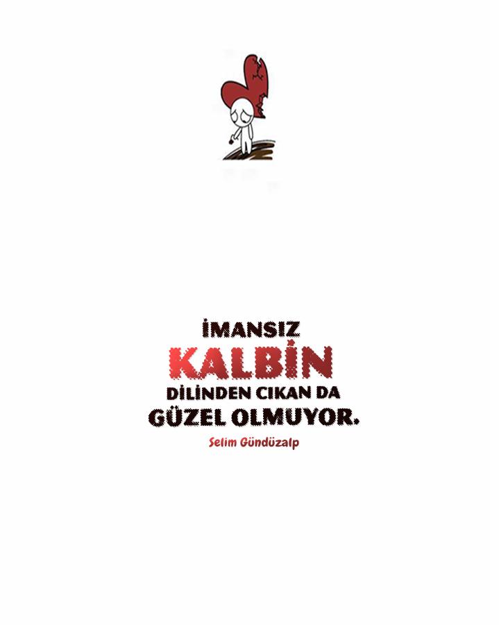 İDMANSIZ KALBIN
